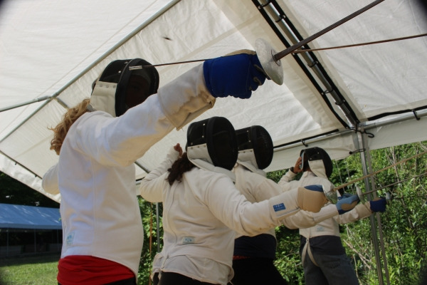 fencing at anokijig
