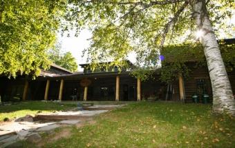 Western Lodge Log Cabin