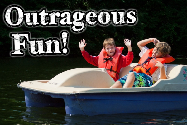 Outrageous Fun! - Camp Anokijig