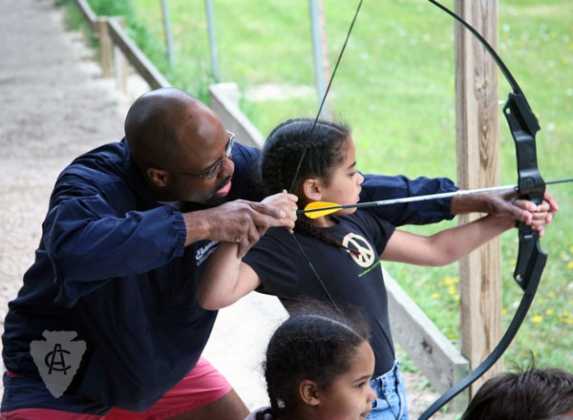 Family camp archery