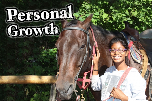Working with Horses = Growth