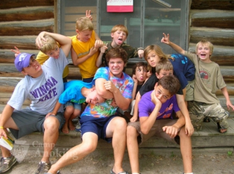 Camp Anokijig Summer Staff & Campers